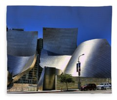Walt Disney Concert Hall IIi Fleece Blanket
