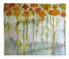 Waltz Of The Flowers Fleece Blanket