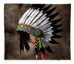 War Bonnet Fleece Blanket