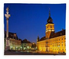 Warsaw By Night Fleece Blanket