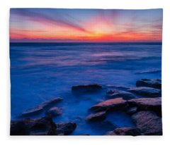 Washington Oaks Twilight Fleece Blanket