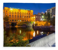 Washington Water Power Fleece Blanket