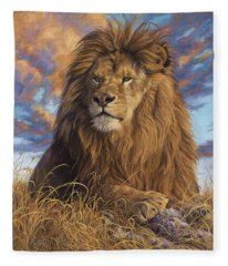Watchful Eyes Fleece Blanket