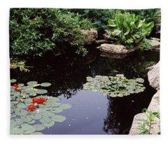 Olbrich Botanical Gardens Fleece Blankets
