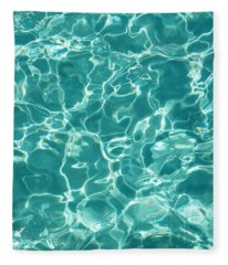 Water Meditation I. Five Elements. Healing With Feng Shui And Color Therapy In Interior Design Fleece Blanket