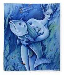 Water Fleece Blanket
