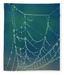 Water Web Fleece Blanket