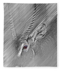 Waterbuck Fleece Blanket
