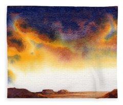 Mesa Fleece Blanket