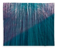 Waterfall Abstract Fleece Blanket
