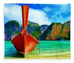 Watermarked-a Dreamy Version Collection Fleece Blanket