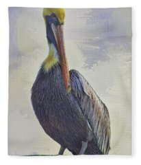 Waterway Pelican Fleece Blanket