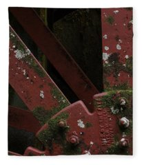 Waterwheel Up Close Fleece Blanket