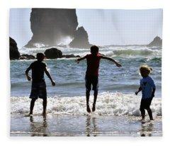 Wave Jumping 25614 Fleece Blanket