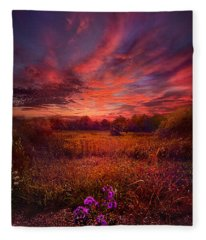 We Find Our Own Story Fleece Blanket