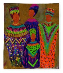 We Women 4 Fleece Blanket