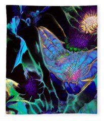 Webbed Galaxy Fleece Blanket