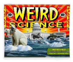 Weird Science Fleece Blanket