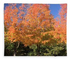 Welcome Autumn Fleece Blanket