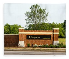 Welcome To Cayce Fleece Blanket