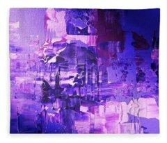 Weltschmerz Fleece Blanket