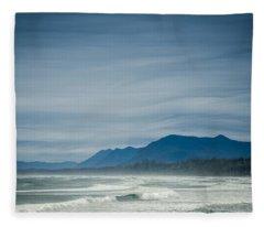 West Coast Exposure  Fleece Blanket