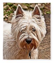 West Highland White Terrier Fleece Blanket