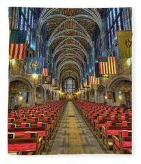 West Point Cadet Chapel Fleece Blanket