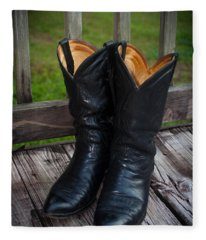 Western Wear Fleece Blanket