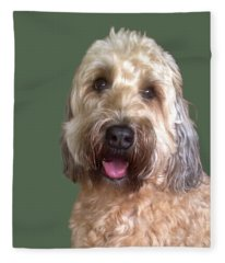 Wheaton Terrier Fleece Blanket