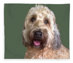 Wheaton Terrier Fleece Blanket