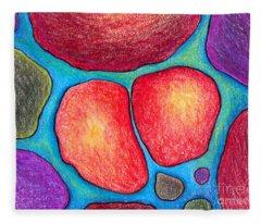 Soul Mates Drawings Fleece Blankets