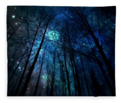 Where The Faeries Meet Fleece Blanket