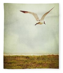 Where To Go? Fleece Blanket