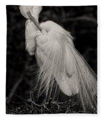 Whispy And Delicate Fleece Blanket