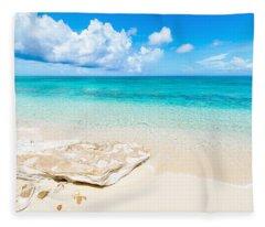 White Sand Fleece Blanket