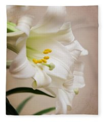 White Softness Fleece Blanket