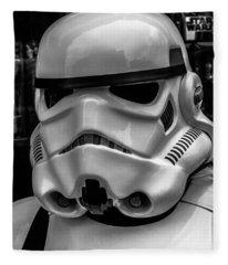White Stormtrooper Fleece Blanket