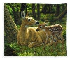 Deer Fleece Blankets
