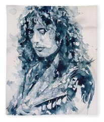 Whole Lotta Love Jimmy Page Fleece Blanket