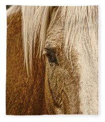 Wickenburg's Palomino Gold Fleece Blanket