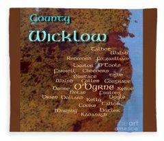 Wicklow Families Fleece Blanket