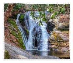 Widows Creek Falls Fleece Blanket