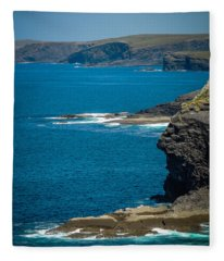 Wild Atlantic Coast Fleece Blanket