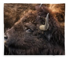 Wild Eye - Bison - Yellowstone Fleece Blanket