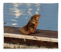 Wild Pup Sun Bathing Fleece Blanket