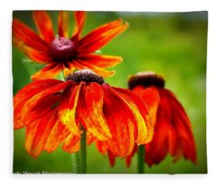 Wildest Bloom Fleece Blanket