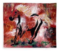 Wildfire Fleece Blanket