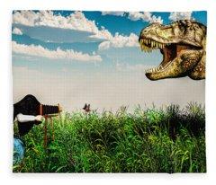Wildlife Photographer  Fleece Blanket