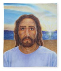 Will You Follow Me - Jesus Fleece Blanket